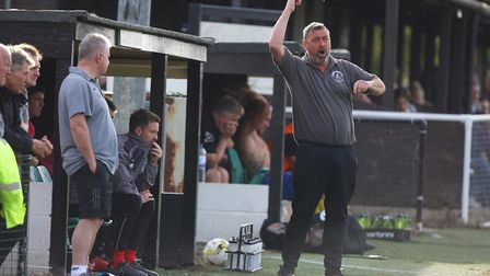 Colney Heath manager Ryan Thompson says passion is a key part of his and his team's make-up. Pict