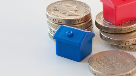 The average cost of a home in Cambridgeshire decreased by more than two per cent in February.