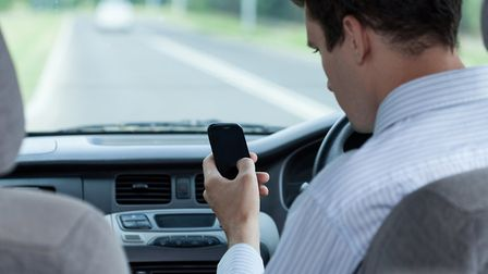 Hundreds of drivers were caught using their phones at the wheel. Picture: THINKSTOCK