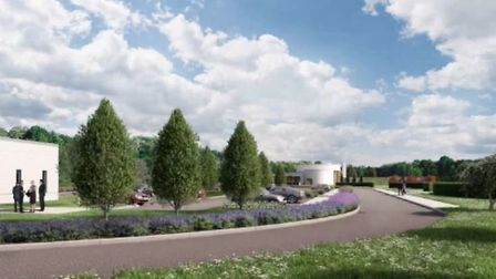 An artists impression of what the new site could look like