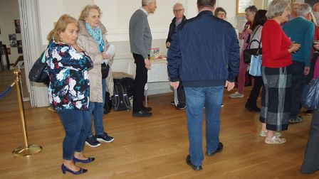 The civic reception at St Albans Museum + Gallery to welcome the Wormser Kantorei. Picture: Norbert