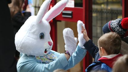 Last year's Easter trail in Royston. Picture: DANNY LOO