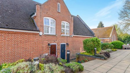 The former school has been converted into 13 modern homes. Picture: William H Brown