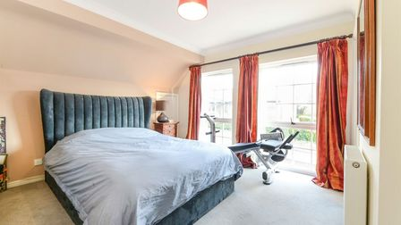The property has two double bedrooms. Picture: William H Brown