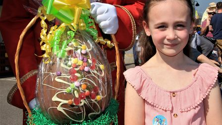 Royston Easter trail winner Emmie Cobley. Picture: Clive Porter