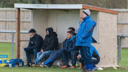 Brampton manager Wayne Ambler (right) has stepped down. Picture: J BIGGS PHOTOGRAPHY