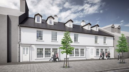 CGI of how Essex House on Victoria Street, St Albans, will look on completion. Picture: Catton Homes