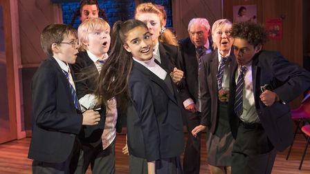 Asha Banks as Pandora in The Secret Diary of Adrian Mole. Picture: Alastair Muir