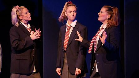 St Albans Musical Theatre Company's production of Madness musical Our House at The Alban Arena. Pict