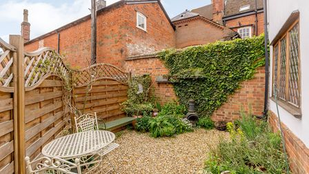 There is a courtyard garden and off street parking. Picture: Fine & Country
