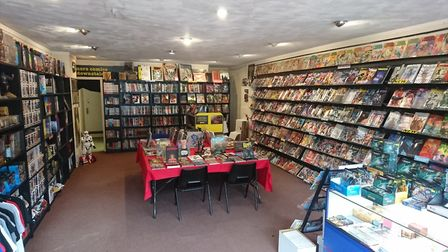 Chaos City Comics in St Albans is offering free comic books on Free Comic Book Day. Picture: Anne Su