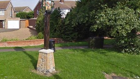 The Wootton village sign. The incidents happened in Wootton. Picture: Google Maps