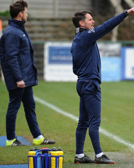 St Neots Town manager Marc Abbott is expecting an exciting summer. Picture: MARK RIDER