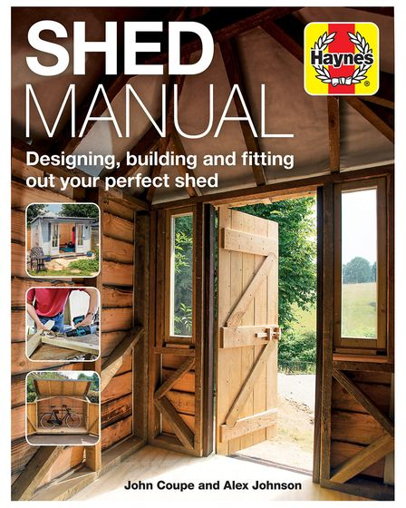 Shed Manual, by John Couple and St Albans' own Alex Johnson. Picture: Haynes