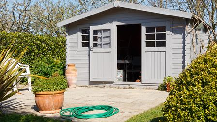 Shed chic: It's all about the 'she shed' or 'man cave' these days. Picture: Getty