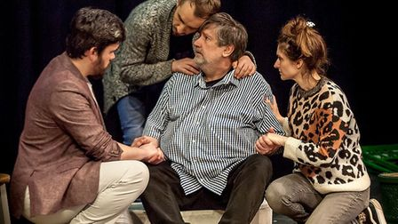 Company of Ten presents Things I Know to be True at the Abbey Theatre in St Albans. Picture: Nick Cl