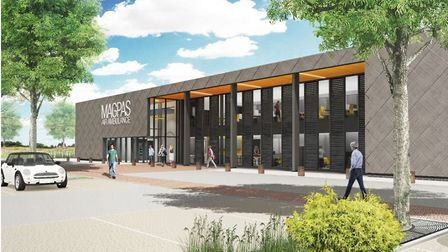 An artists impression of what the new MAGPAS headquaters could look like