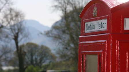 Many former phone boxes have been turned into kiosks housing defibrillators