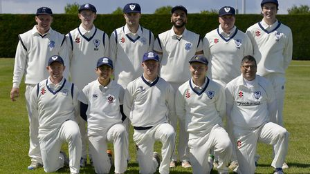 St Ives & Warboys pictured ahead of their win against Castor & Ailsworth in Whiting & Partners Divis