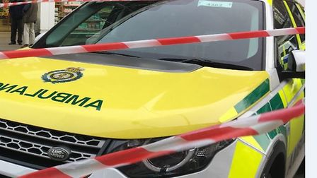 Ambulance crews were called to Fenton following the incident. Picture: CONTRIBUTED