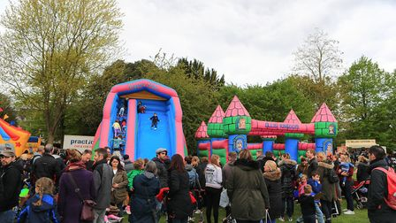 Amazing crowds for the Royston May Fayre 2019. Picture: KEVIN RICHARDS