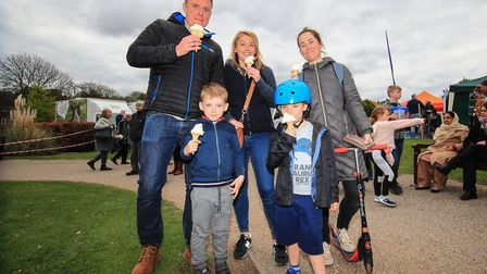 Cant beat an ice-cream at the Royston May Fayre 2019. Picture: KEVIN RICHARDS