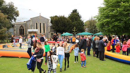 A busy Royston May Fayre 2019. Picture: KEVIN RICHARDS