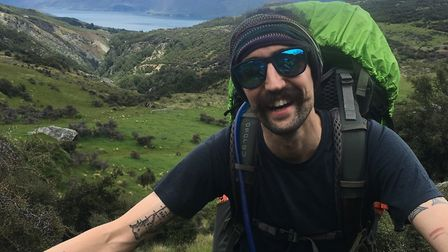 Ben Garcia is walking from John O''Groats in Scotland to Land''s End to raise money for the Mental H
