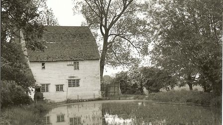 The mill pond from 1930. Picture: Courtesy of Meldreth History Society