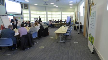 Huntingdonshire District Council invited stakeholders to the launch of the masterplan process. Pictu
