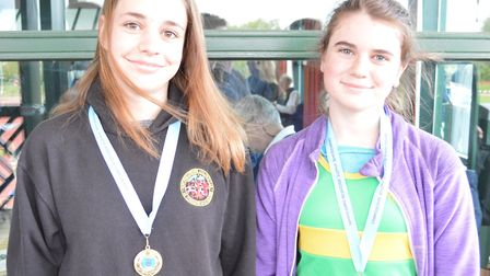 Sisters Eleanor and Emma Phipps both won gold medals. Picture: SUBMITTED