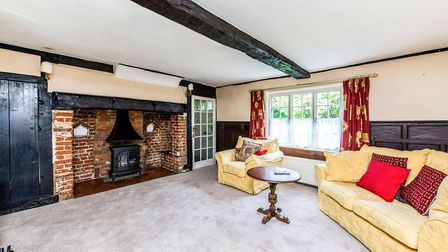 The Grade II listed home has many period features. Picture: Hamptons