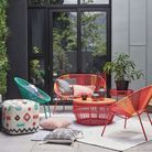 Tell A Colour Story: House by John Lewis Salsa Garden Chair (set of 2), Orange Sunrise; 140; Salsa