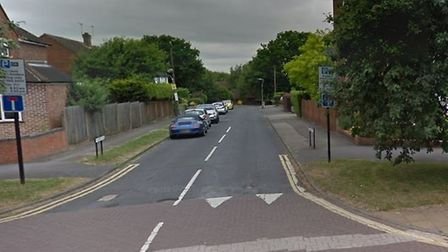 One of the burglaries happened on Downes Road. Picture: Google Maps