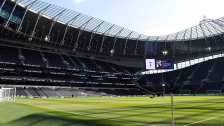 Tottenham Hotspur's new stadium will host the 2021 European Rugby finals. Picture: IAN WALTON/PA