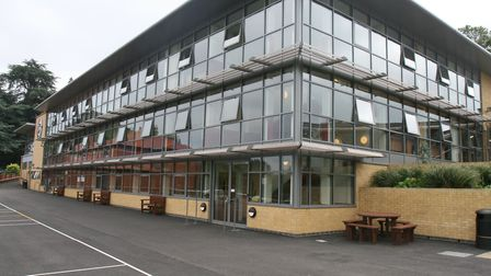 Richard chose St Columba's College in St Albans for his older sons. Picture: Supplied