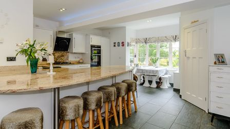 The property has an impressive kitchen/breakfast room. Picture: Strutt & Parker