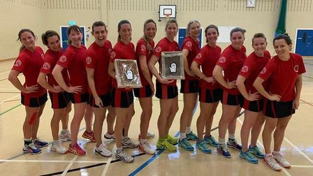 Harpenden Netball Club made it back-to-back promotions.