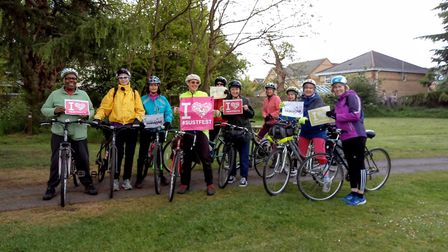 Five Miles to Fabulous Women-Only Bike Ride. Picture: Submitted by Sustainable St Albans