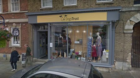The Dogs Trust store in St Neots. Picture: GOOGLE