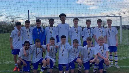 Verulam School's U14 side will play their National Cup final at The Hawthorns, home of West Bromwich