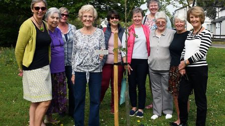 Ladies from the Langley WI in Hemingford Grey