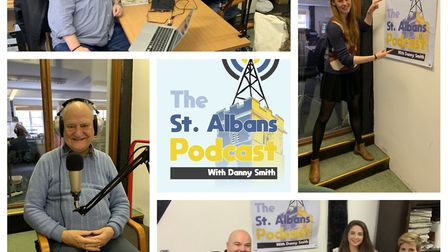 Listen in to the next episode of the St Albans Podcast, on May 15. Picture: Danny Smith