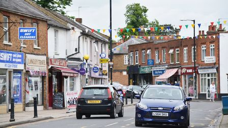 Amenities on High Street include a dry cleaners and a cafe. Picture: Kevin Lines