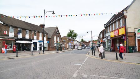 Abbots Langley is home to a wine shop and a post office, among other amenities. Picture: Kevin Lines