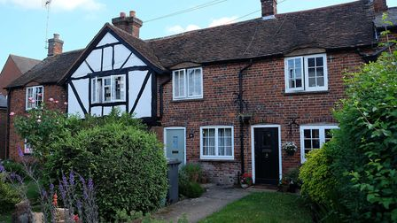 Some of Codicote's characterful cottages. Picture: Danny Loo