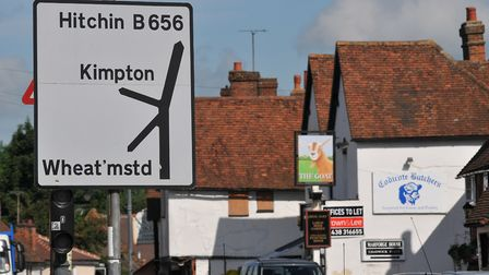 Kimpton and Wheathampstead are a short drive from Codicote. Picture: Danny Loo