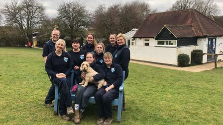 Staff and volunteers at Hertfordshire Blue Cross in Kimpton. Picture: Blue Cross