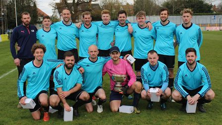 Wheathampstead 89 won the Herts Advertiser Junior Cup with a 3-1 win over Marshalswick Rovers at Cla