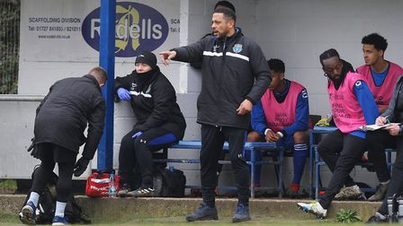 London Colney manager Ken Charlery will lead his side into the Essex Senior League next season. Pict